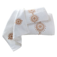 Estelle Embroidered Bath Sheet,
