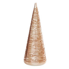 Small Rose Gold Glass Table Tree,
