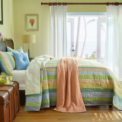 Coastal Stripe Bedspread & Pillow Collection,