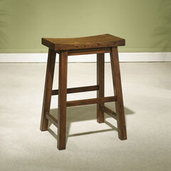 "Counter Stool, 24"" Seat Height, HONEY BROWN"