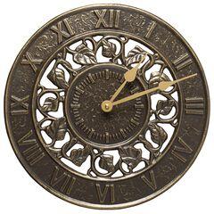 Ivy Silhouette Clock ,