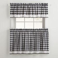Buffalo Tier Curtain,