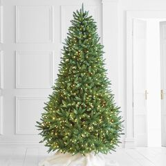 8 pre lit fraser fir tree - Fully Decorated Artificial Christmas Trees