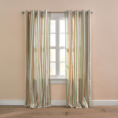 BH Studio Cotton Canvas Striped Grommet Panel,