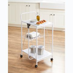 Multi-Purpose Foldable Rolling Cart,