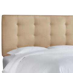 Button Tufted Headboard,
