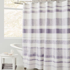Merritt Shower Curtain, PURPLE