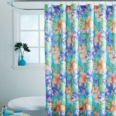 Caribbean Joe 14-Pc. Shower Curtain Sets, HIBISCUS