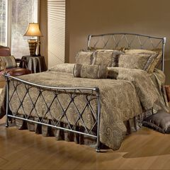 King Bed with Bed Frame, 83½'Lx79½'Wx48½'H,