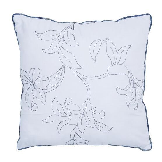 "Catherine 16"" Sq. Pillow, BLUE MULTI"