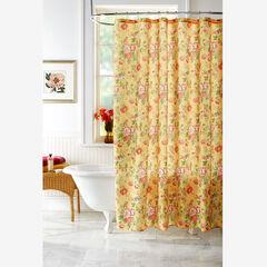 13-Pc. Vintage Floral Shower Curtain Set, VINTAGE FLORAL