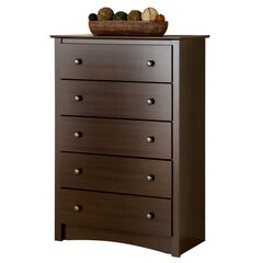 Fremont Espresso 5-Drawer Chest,
