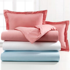 300-TC. Cotton 3-Pc. Duvet Set, LIGHT BLUE