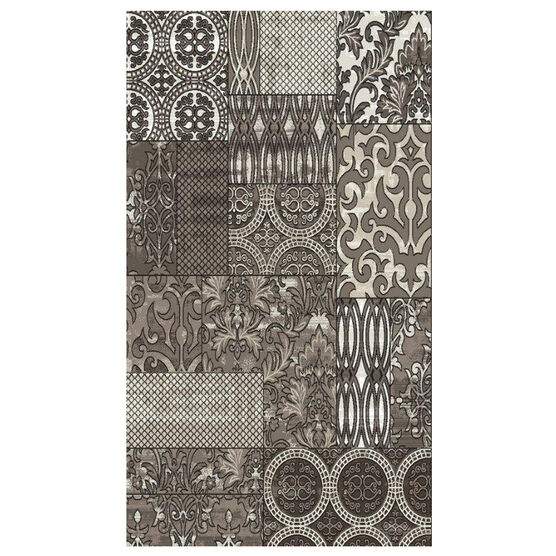 Jewel 5' x 8' Area Rug, DARK BEIGE