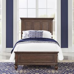 Southport Brown Twin Bed,