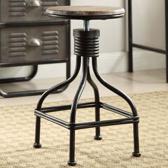 Adjustable Swivel Stool,