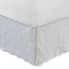 "Greenland Home Fashions Paisley Quilted Bed Skirt 18"","
