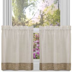 Oakwood Window Curtain Tier Pair,