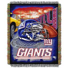 NY Giants Home Field Advantage Throw,