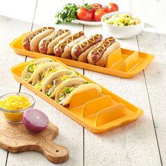 Hot Dog Trays, Set of 2,