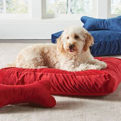 Velvet Pet Bed Cover with Free Toy,