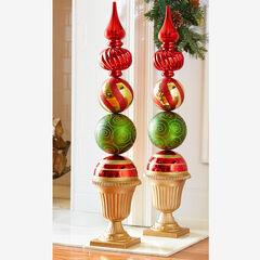 Ornament Topiary Statue,