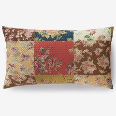 3-Pc. Printed Patchwork Velvet Pinsonic Quilt Set,