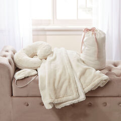 4-Pc. Faux Fur Travel Gift Set,