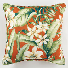 "16"" Sq. Toss Pillow, NAYA PAPAYA"
