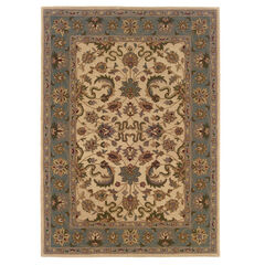 Trio Traditional Cream 5'X7' Area Rug,