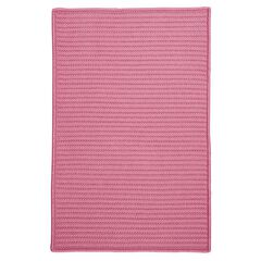 Simple Home Solid Rug by Colonial Mills, PINK