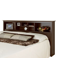 Fremont Espresso King Bookcase Headboard,