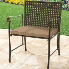 Extra Wide Metal Folding Chair,