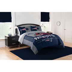 COMFORTER SET DRAFT-PATRIOTS,