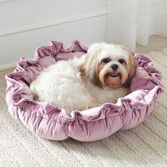 Velvet Cupcake Pet Bed,