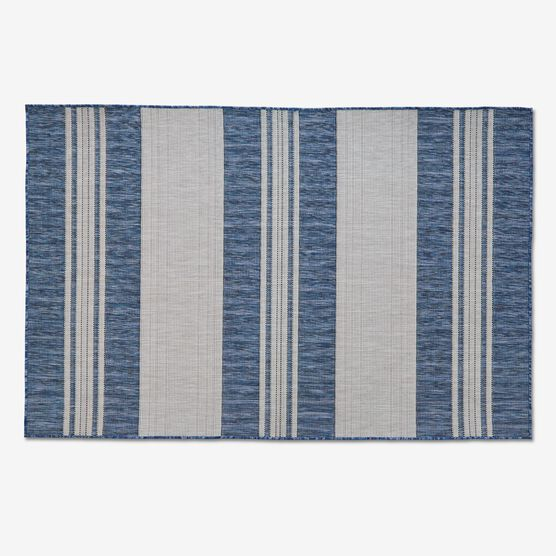 "Carmel Indoor/Outdoor Bold Stripe Rug 4'10"" x 7'6"","