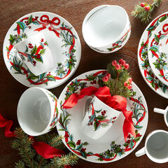 16-Pc. Christmas Dinnerware Set,