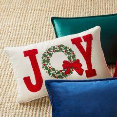 Holiday Lumbar Pillow, JOY
