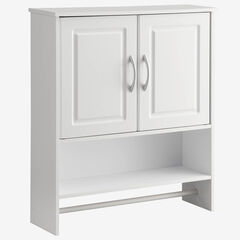 Bathroom 2-Door Wall Cabinet,