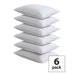 Fresh Ideas Master Block Easy Care Pillow Protector 6-Pack,