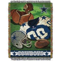 Cowboys Vintage Throw,