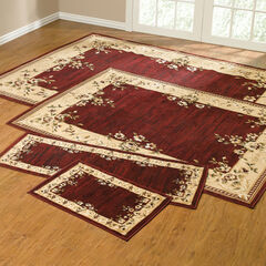 Rose Border 4-Pc. Rug Set with Runner,