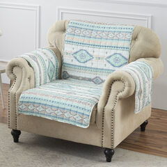 Phoenix Turquoise Furniture Protector, Arm Chair,