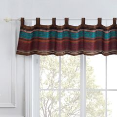 Tucson Coffee Window Valance by Barefoot Bungalow,