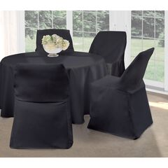 "Fresh Ideas Folding Chair Cover 32"" x 18"","