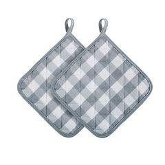 Buffalo Check Pot Holder - Set of Two,