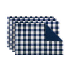 Buffalo Check Reversible Placemat - Set of Four,
