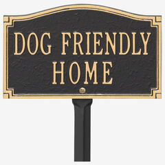 Dog Friendly Home Sign,
