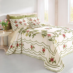 Samantha Oversized Chenille Bedspread,