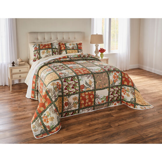 Olivia Patchwork Bedspread Collection,